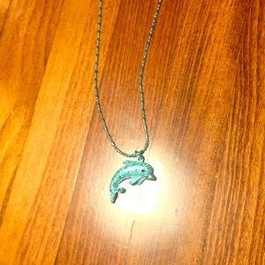 Blue Dolphin necklace